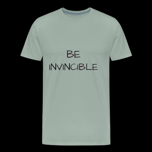 BE INVINCIBLE - Men's Premium T-Shirt
