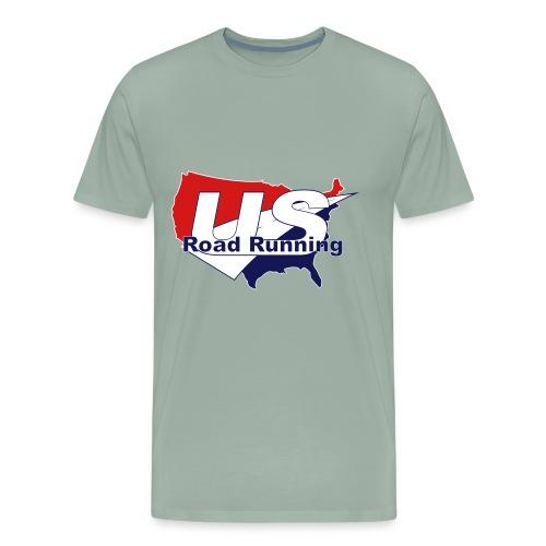 US Road Running Logo - Men's Premium T-Shirt