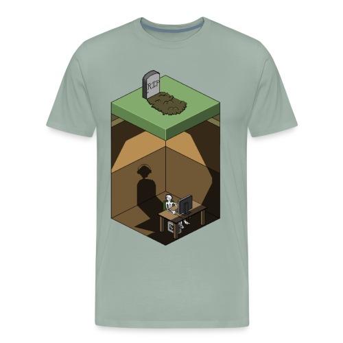 R.I.P. Social Life - Men's Premium T-Shirt