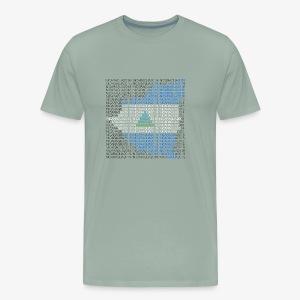 Nicaragua 2018 Flag - Men's Premium T-Shirt