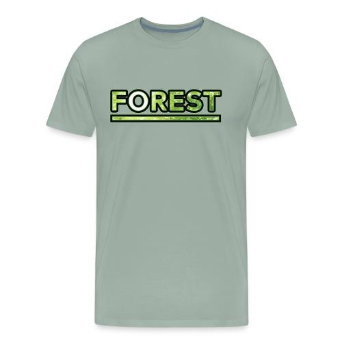 Forest - Double Exposure - Effect - Men's Premium T-Shirt