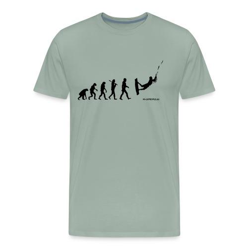 Kite surfing Evolution - Men's Premium T-Shirt