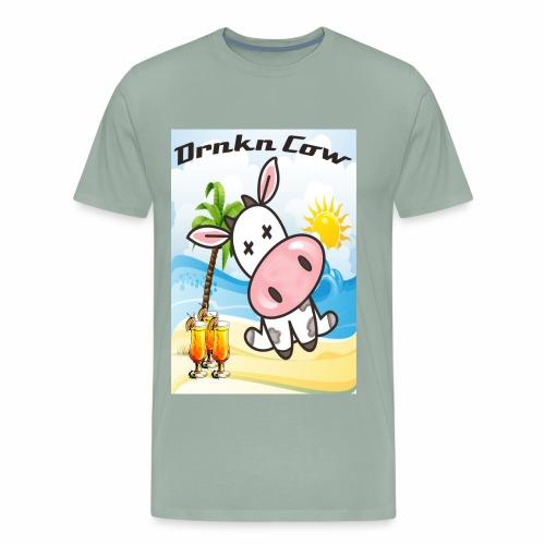 Drunken Cow Beach - Men's Premium T-Shirt