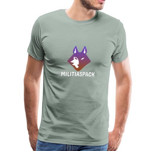 Militiaspack Purple - Men's Premium T-Shirt