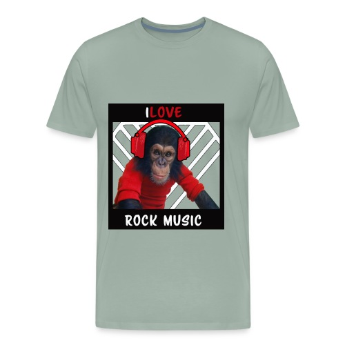 iLove - Men's Premium T-Shirt