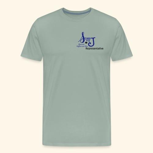 SMJ Rep. Blue - Men's Premium T-Shirt