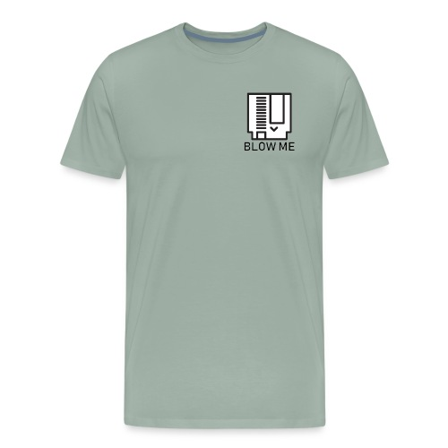 NES BLOW ME Cartridge - Men's Premium T-Shirt