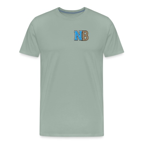 nb logo - Men's Premium T-Shirt