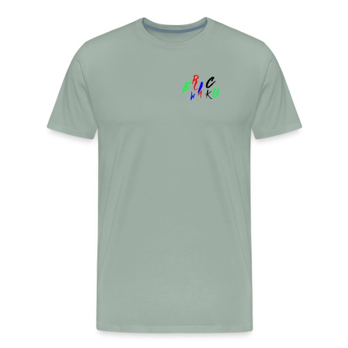EricWaku015Wow - Men's Premium T-Shirt