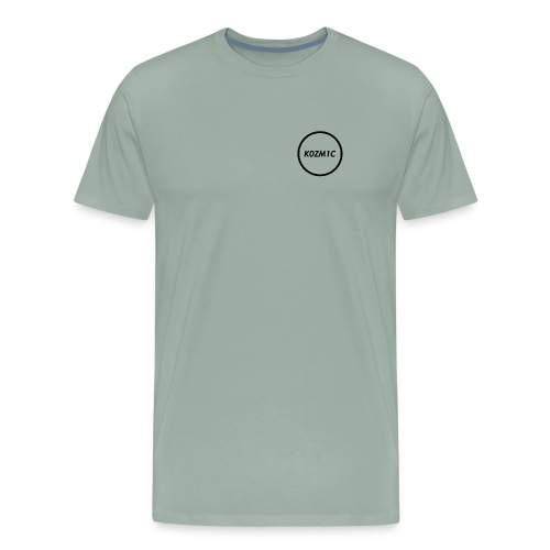 K0ZM1C Signature - Black - Men's Premium T-Shirt