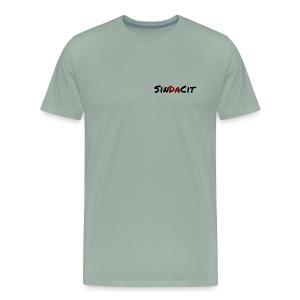 SinDaCit Text - Men's Premium T-Shirt