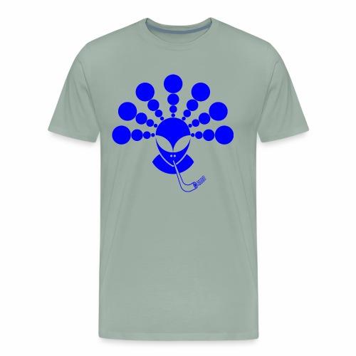 The Smoking Alien - Men's Premium T-Shirt