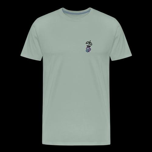 Falling Roses - Men's Premium T-Shirt