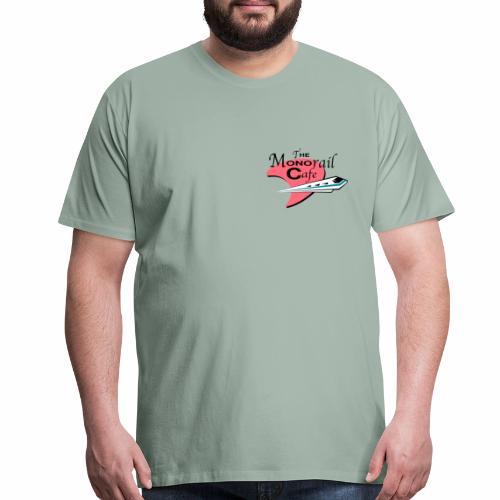 The Monorail Cafe - Men's Premium T-Shirt