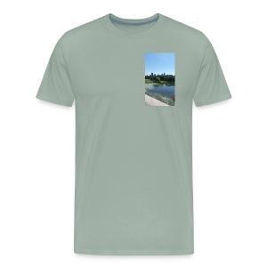 New York scenery - Men's Premium T-Shirt