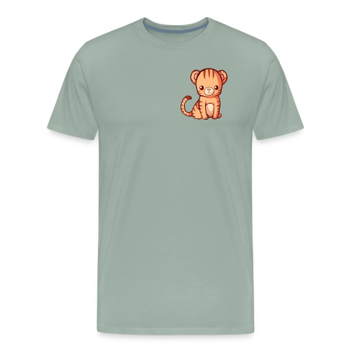 BlehhhhNation Tiger Kawaii - Men's Premium T-Shirt