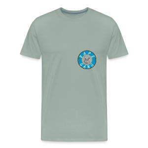 VapeGang Blue Logo - Men's Premium T-Shirt