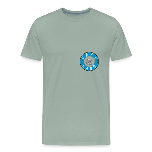 VapeGang Blue Logo - Men's Premium T-Shirt