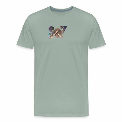 drum shapes - Men's Premium T-Shirt