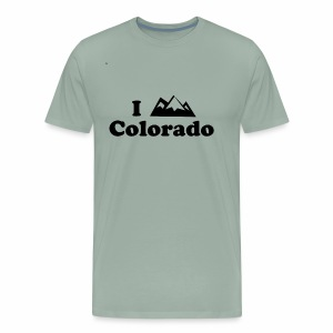 colorado mountain - Men's Premium T-Shirt
