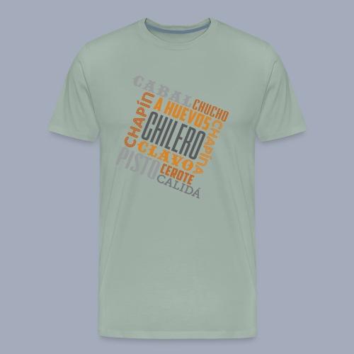 Chilero Words 01 - Men's Premium T-Shirt
