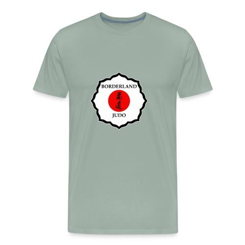 Borderland Judo - Crest - Men's Premium T-Shirt