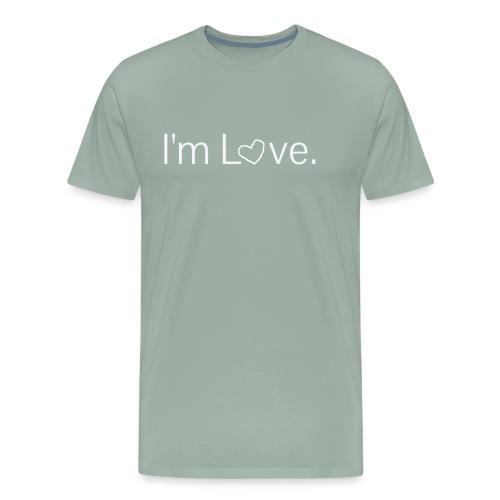 I'm Love Heart Premium Shirt Hoodie - Men's Premium T-Shirt