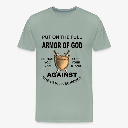 Put On The Full Armor Of God - Men's Premium T-Shirt