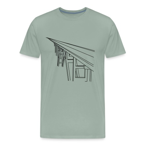 Bridge Vector - Men's Premium T-Shirt