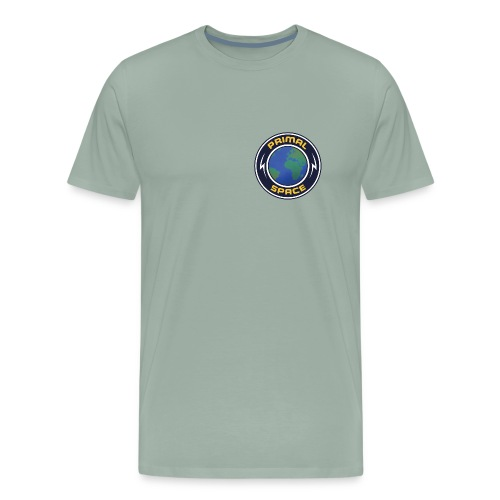 Primal Space Electric Logo - Men's Premium T-Shirt