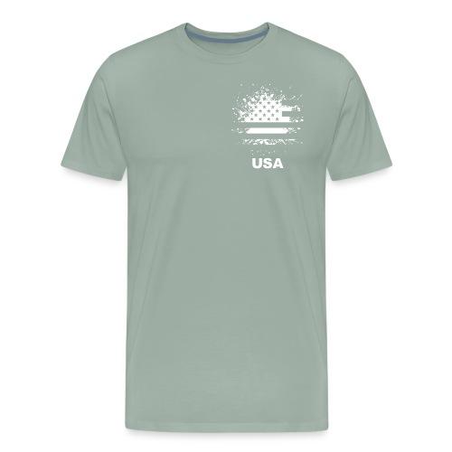 American flag usa - Men's Premium T-Shirt