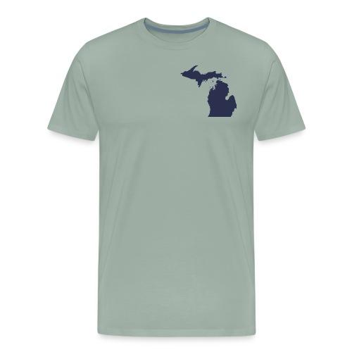 MI Michigan - Men's Premium T-Shirt
