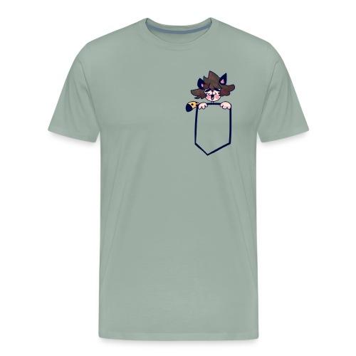 Pocket Edwin - Men's Premium T-Shirt
