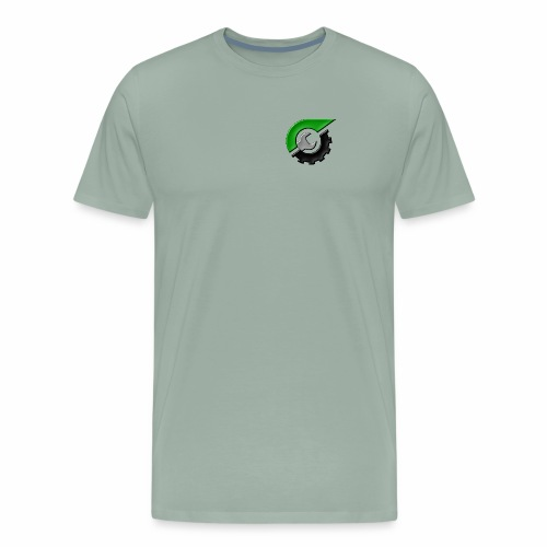 JeepSolid Logo - Men's Premium T-Shirt