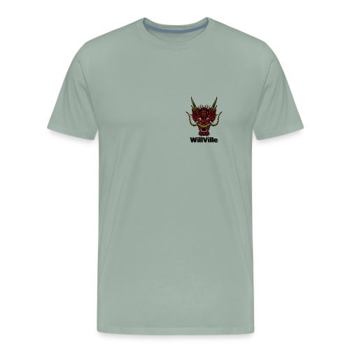 Red Dragon/WillVille - Men's Premium T-Shirt