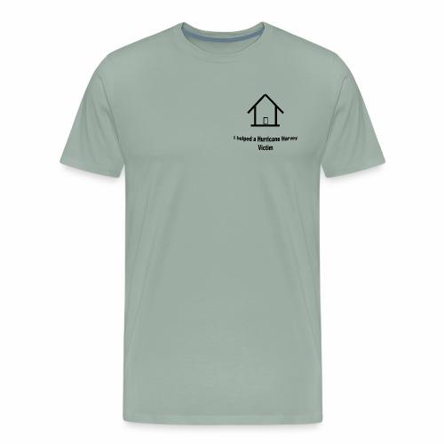 Hurricane Harvey Victim t-shirt donation - Men's Premium T-Shirt