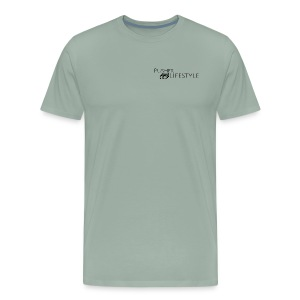 beginning pusher lifestyle - Men's Premium T-Shirt