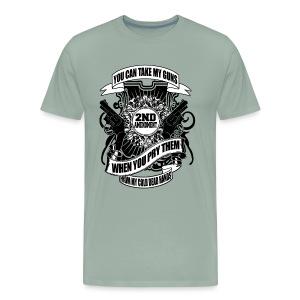 2nd Amendment Gun Rights - Men's Premium T-Shirt