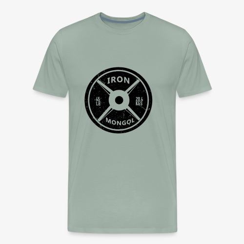 45lb Plate - Men's Premium T-Shirt