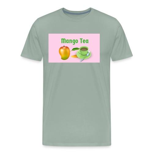 Mango Tea on YouTube - Men's Premium T-Shirt