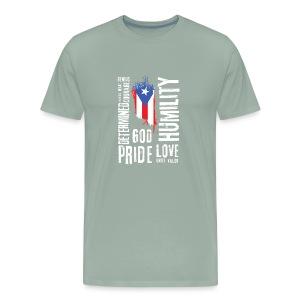 Puerto Rican Identity - Men's Premium T-Shirt