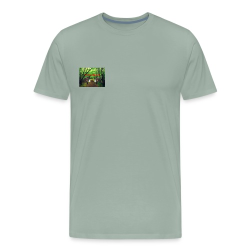 MOOSEMILK to high - Men's Premium T-Shirt