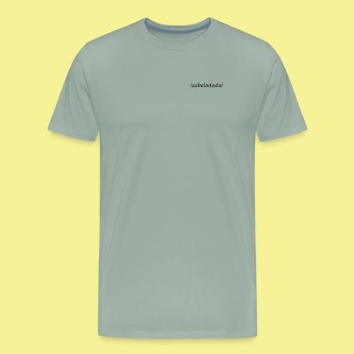 izabeladadal logo merch - Men's Premium T-Shirt