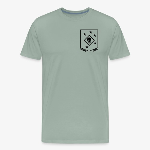 Marine Raider Skull - Men's Premium T-Shirt