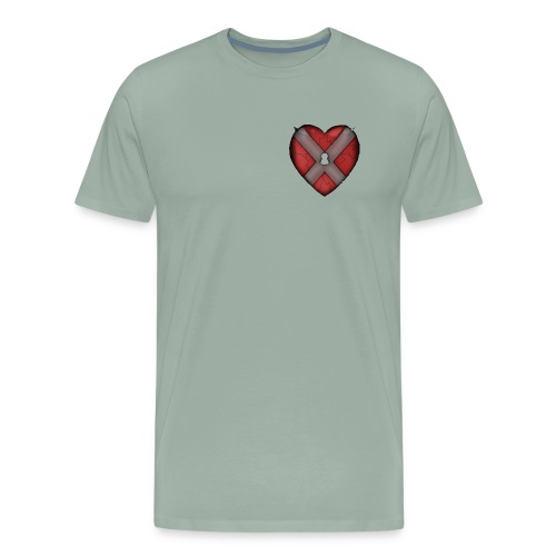 Lock and key - Men's Premium T-Shirt
