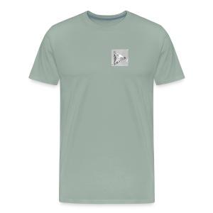 9 days left-diamond button - Men's Premium T-Shirt