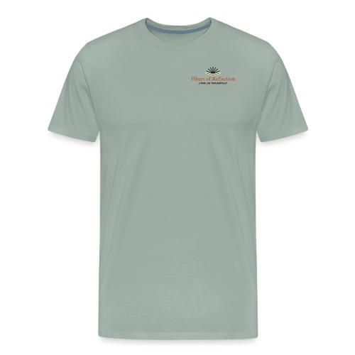 Fibers of Reflection - Men's Premium T-Shirt