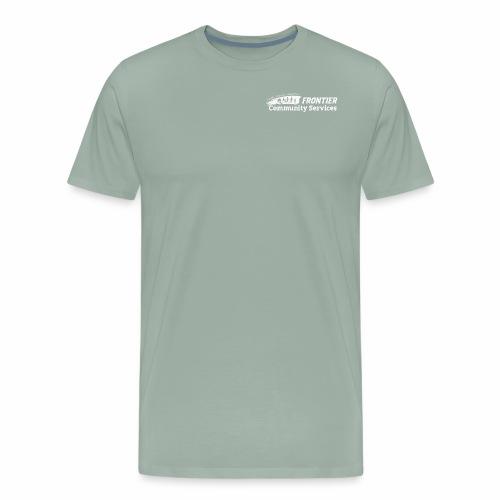 White Logo for Dark Colors - Men's Premium T-Shirt