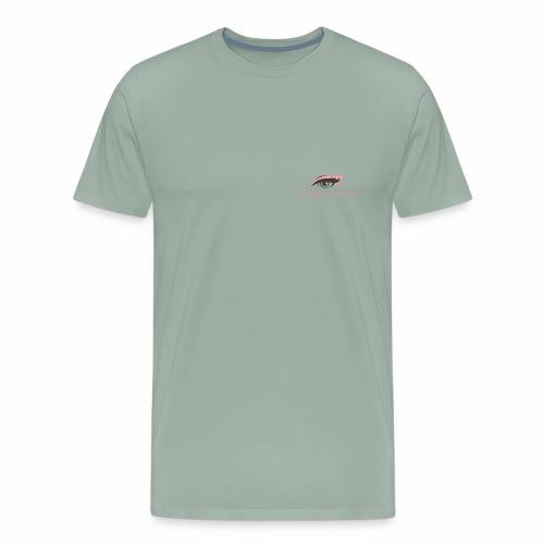 thick thighs & pretty eyes - Men's Premium T-Shirt