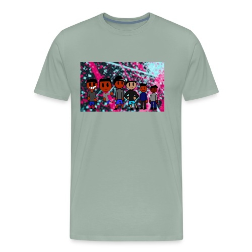 J squad rock merch - Men's Premium T-Shirt
